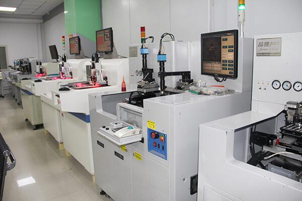 Picking RFID chip machine