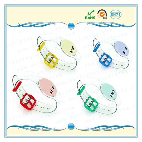 NTAG213 Plastic NFC Wristband