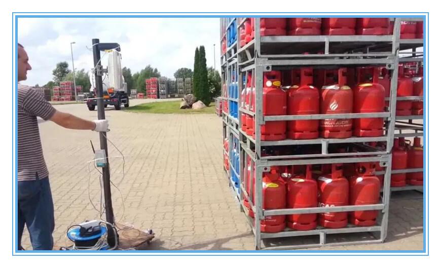 gas cylinder RFID tag
