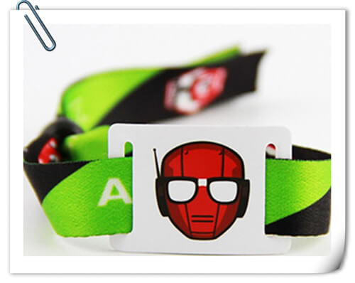 Full-Color Dye Sublimation cloth Wristbands